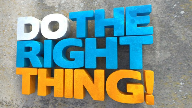 Doing the right thing - ethical decisions